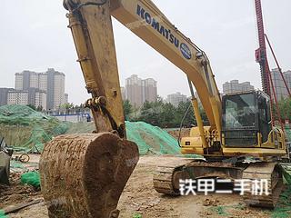 武漢小松PC220-8M0挖掘機實拍圖片