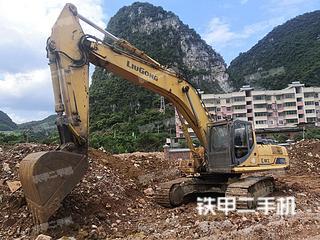 河池柳工CLG936D挖掘机实拍图片