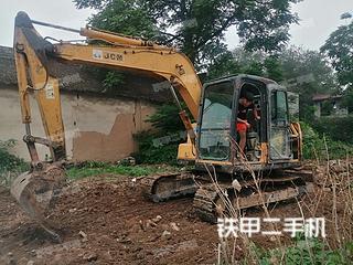 河南-济源市二手山重建机JCM908C挖掘机实拍照片
