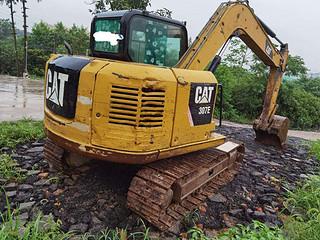 二手卡特彼勒挖掘机右后45实拍图163