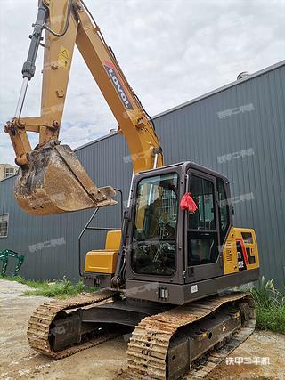 湖南-长沙市二手雷沃重工FR130E挖掘机实拍照片