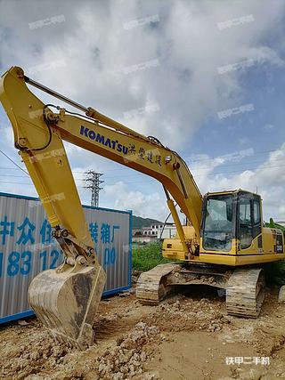 肇慶小松PC200-8挖掘機實拍圖片