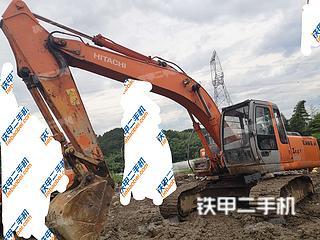 日立ZX200挖掘機實拍圖片