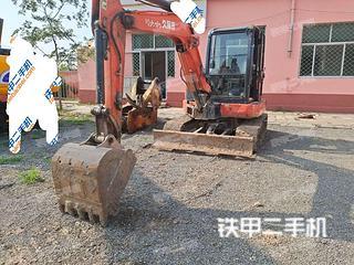 久保田KX155-5挖掘機實拍圖片