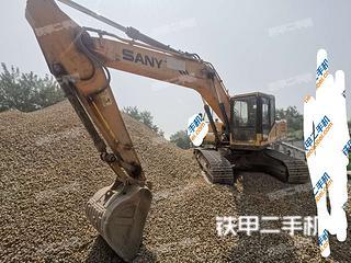 阜阳三一重工SY205C挖掘机实拍图片