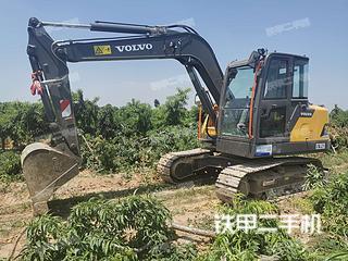 沃爾沃EC75D挖掘機實拍圖片