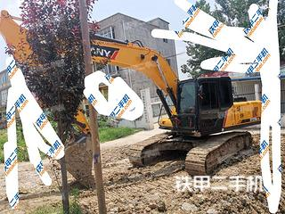 阜阳三一重工SY215C挖掘机实拍图片