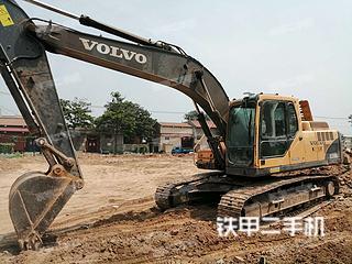 河南-济源市二手沃尔沃EC210BLC挖掘机实拍照片
