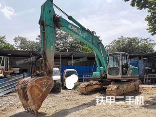 广东-清远市二手神钢SK200-6E挖掘机实拍照片