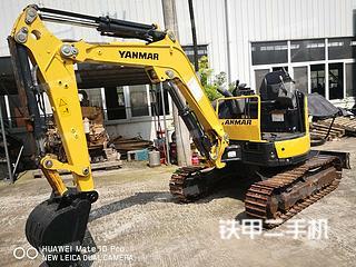 洋马VIO25-6挖掘机实拍图片