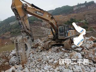 成都三一重工SY485H挖掘机实拍图片