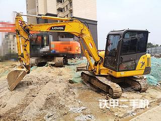 安徽-马鞍山市二手雷沃重工FR60E挖掘机实拍照片