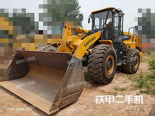 河南-郑州市二手柳工CLG855N装载机实拍照片