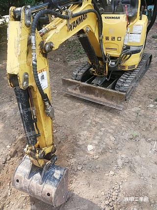洋马Vio10-2A-橡胶履带挖掘机实拍图片
