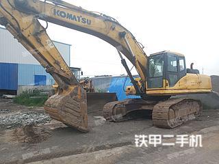 青島小松PC300LC-7挖掘機實拍圖片