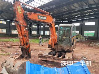 四川-宜宾市二手斗山DH60-7挖掘机实拍照片