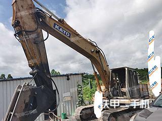 加藤HD700SE挖掘机实拍图片