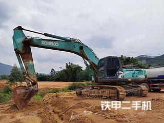 广东-韶关市二手神钢SK350LC-8挖掘机实拍照片