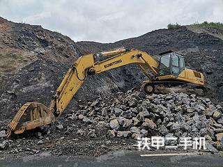 住友SH350HD-5挖掘機實拍圖片