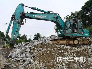 山河智能SWE210挖掘機實拍圖片