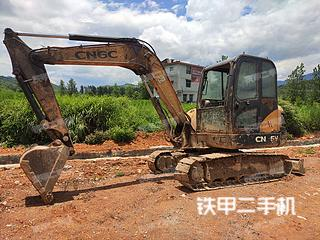 湖南-邵阳市二手江麓机电CN65V挖掘机实拍照片