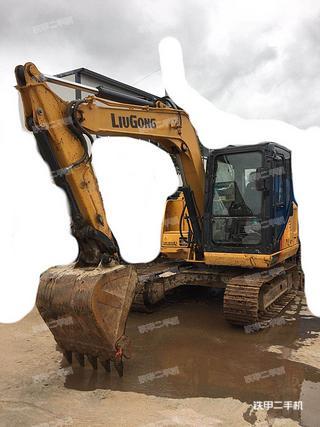 柳工CLG9075E挖掘机实拍图片