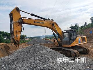 柳工CLG939E挖掘机实拍图片