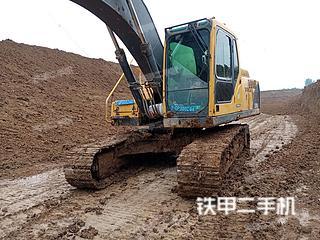 河南-周口市二手沃尔沃EC210B挖掘机实拍照片