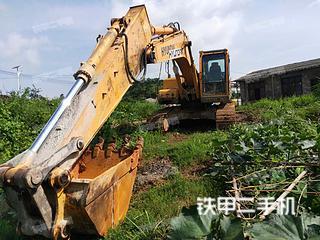 現代R225LC- 9挖掘機實拍圖片