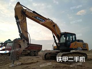 二手三一重工 SY335H 挖掘机转让出售