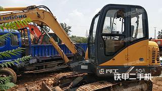 柳工CLG906C挖掘机实拍图片