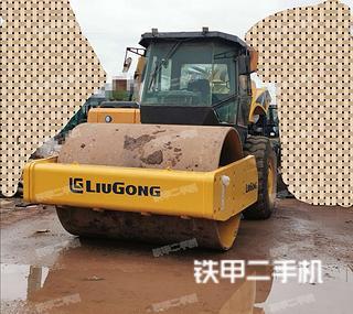 云南-昆明市二手柳工CLG620压路机实拍照片