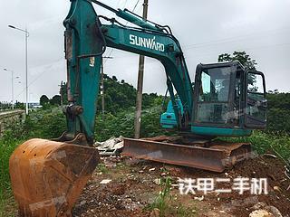 山河智能SWE90E挖掘機實拍圖片