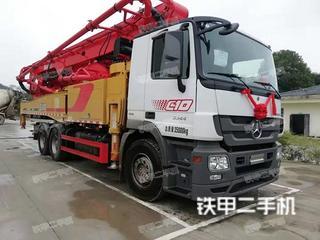 上海三一重工SYM5283THBDZ380C-8泵車實拍圖片