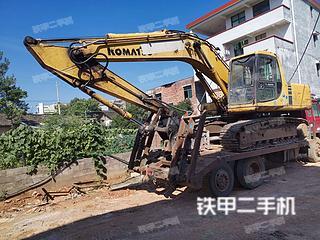 湖南-永州市二手小松PC200-6E挖掘机实拍照片