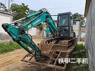 山河智能SWE60N9挖掘機實拍圖片