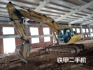 柳工CLG200-3挖掘機實拍圖片
