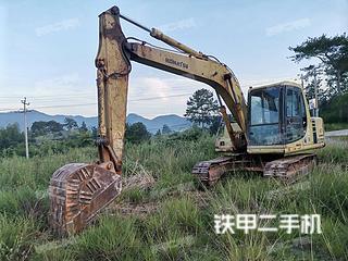 小松PC120-6挖掘機實拍圖片
