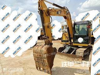 广西-南宁市二手卡特彼勒307E2小型液压挖掘机实拍照片
