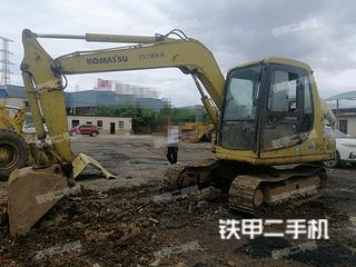曲靖小松PC60-7挖掘機實拍圖片