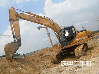 柳工CLG922D挖掘機實拍圖片