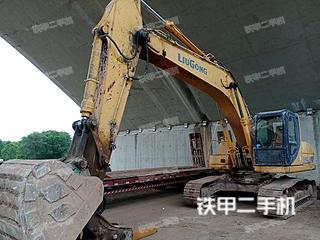 柳工CLG923D挖掘機實拍圖片