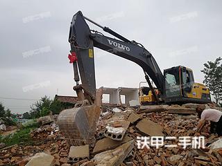 陕西-咸阳市二手沃尔沃EC250D挖掘机实拍照片