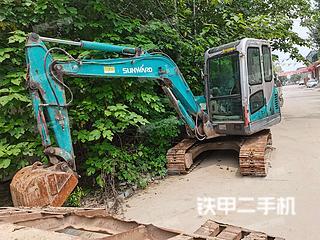 山河智能SWE50N9挖掘機實拍圖片