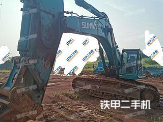 湖南-长沙市二手山河智能SWE470挖掘机实拍照片