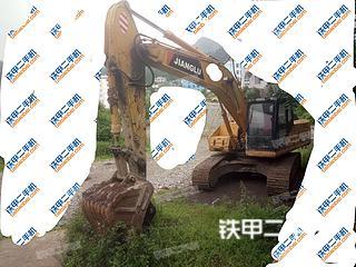 贵州-黔西南布依族苗族自治州二手江麓机电CN230LC-6挖掘机实拍照片