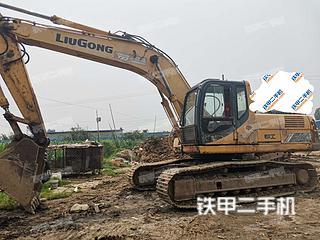 柳工CLG925D挖掘機實拍圖片