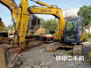 柳工CLG908C挖掘機實拍圖片