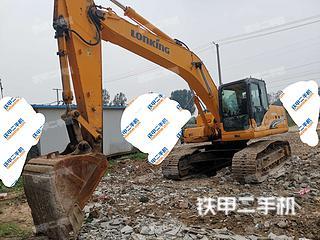 龍工LG6235挖掘機實拍圖片