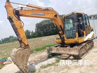 犀牛重工XN90-8挖掘机实拍图片
